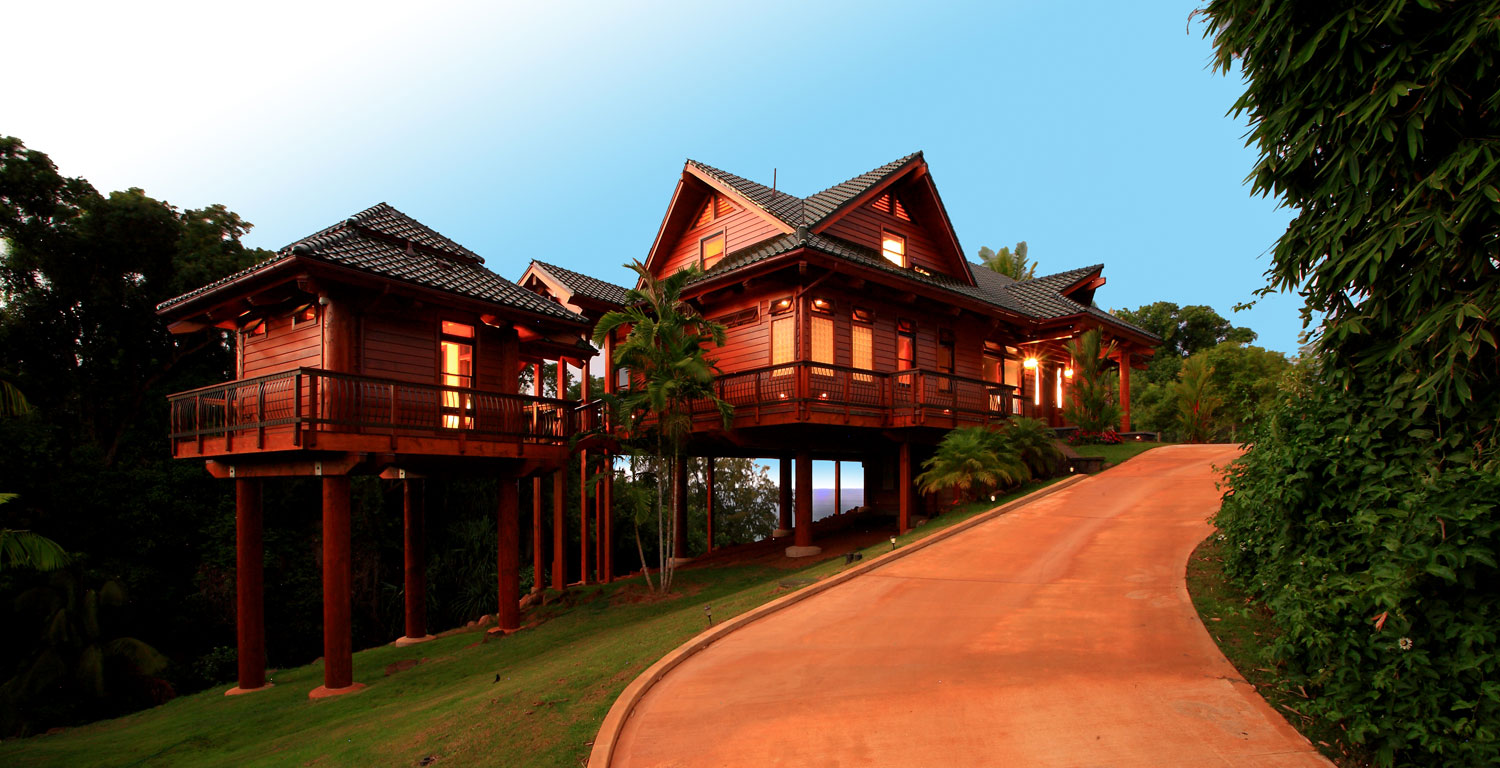 Pacific rim sash and door hawaii - What architectural style is my home ...